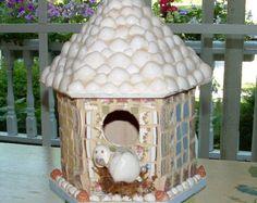 seashell birdhouses - Google Search