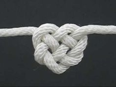 pictures of celtic knots | How to Tie the Celtic Heart Knot by TIAT (A Knotty Valentine)