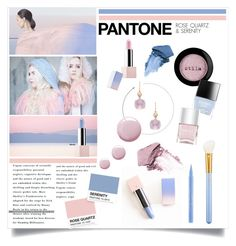 """Pantone 2016"" by the-kwas ❤ liked on Polyvore featuring beauty, Carelle, Topshop, Stila, MAC Cosmetics, Sephora Collection, Butter London, Nails Inc. and Bare Escentuals"
