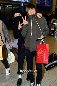 Taeyang & Daesung @ Incheon Airport Back from Japan