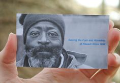 Goodwill Rescue Mission business card designed by fatrabbit CREATIVE.
