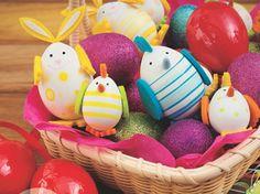 Easy Keepsake Easter Eggs