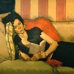 Reading and Art: Joseph Lorusso... ...réépinglé par Maurie Daboux ღ¸.•*¨`*•..¸