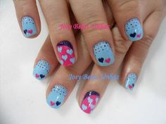 valentine hearts #nail #nails #nailart