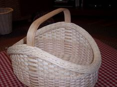 My first handwoven basket for my Etsy Shop - The Heirloom Easter Basket aka Garden Harvest by frommynanasattic, $150.00