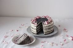 Makový dort scitronovým mascarpone   Děvče u plotny Cheesecake, Sweet, Poppy, Heaven, Food, Mascarpone, Candy, Sky, Cheesecakes