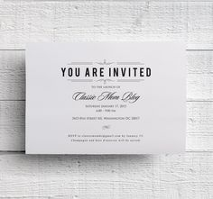 Corporate Event Invitation Company Dinner Invitation Fundraiser Invitation Print Your Own by edencreativestudio on Etsy https://www.etsy.com/listing/221871707/corporate-event-invitation-company