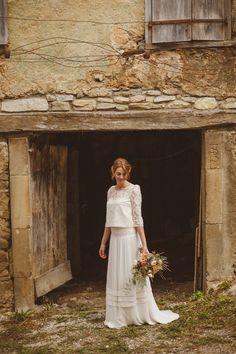 Ed Peers - Un mariage en petit comite en Ariege - La mariee aux pieds nus | la mariee aux pieds nus Robe