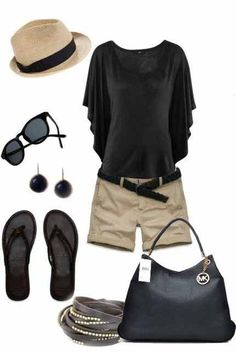 Michael Kors Outlet Source by Mode Outfits, Short Outfits, Casual Outfits, Fashion Outfits, Fashion Trends, Fashion Tips, Summer Wear, Spring Summer Fashion, Spring Outfits
