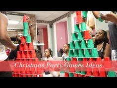 Fun Game Ideas For Christmas Game Night | Lit Family Game Night For the Holidays - YouTube