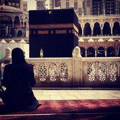 Praying at the Kaaba. Saudi Arabia