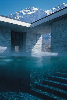 Spa/Bath/Hotel in Switzerland.