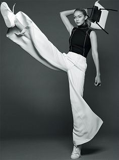 Gigi Hadid by Benny Horne for Vogue Australia ,June 2015