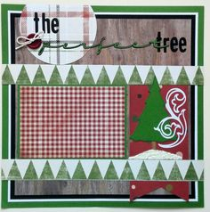 Premade scrapbook layout - Ohioscrapper - Scrapbooks premade pages 12x12 - 12x12 Premade scrapbook pages - Premade Christmas scrapbook pages