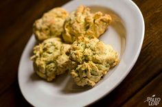 Prepared with almond flour and fresh herbs, these herb scones are especially delicious and great to absorb every last bit of liquid in your plate.