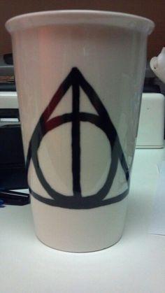 My first diy harry potter sharpie mug i looooove it