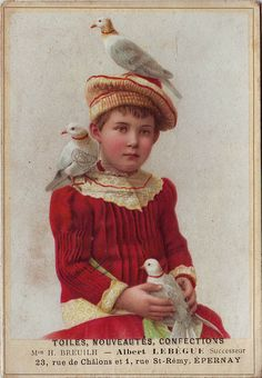 Old trade card
