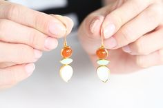 For the Makers: Canyon Earrings