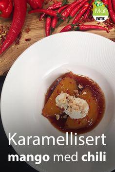 Norwegian Recipes, Norwegian Food, Chili, Cake Recipes, Mango, Sweets, Cakes, Desserts, Manga