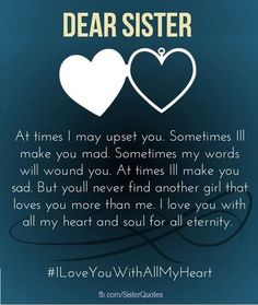 birthday quotes for sister 90 Happy Birthday Sister Quotes, Funny Wishes, Cake Images Collection A huge collection of the best happy birthday wishes f Cute Sister Quotes, Sister Birthday Quotes Funny, Best Brother Quotes, Little Sister Quotes, Birthday Wishes For Brother, Birthday Wishes Quotes, Funny Birthday, Quotes About Sisters, Poems For My Sister