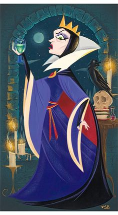 Stephanie Buscema ~ Evil Queen ~ I absolutely love her art!!!!