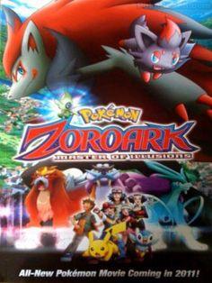 Pokemon zoroark master of illusions Pokemon Zoroark, Pokemon Movies, New Pokemon, Bowser, Illusions, Wallpaper, Anime, Hairstyle, Manga