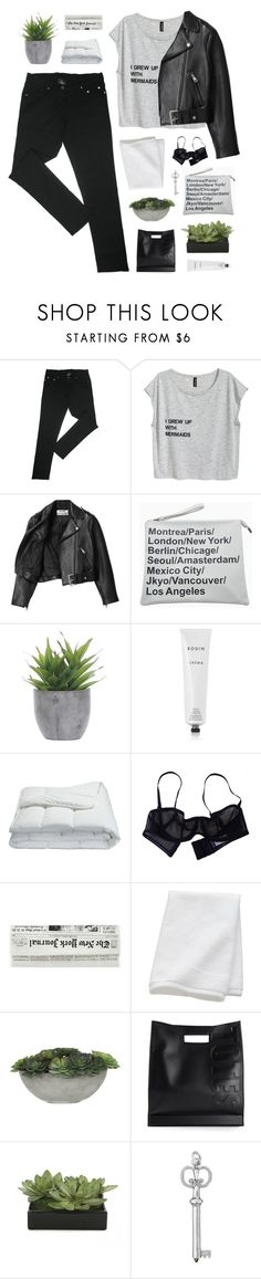 """""""in the name of  love"""" by flying-baby-unicorn ❤ liked on Polyvore featuring Acne Studios, Lux-Art Silks, Rodin, Frette, Eres, CB2 and 3.1 Phillip Lim"""