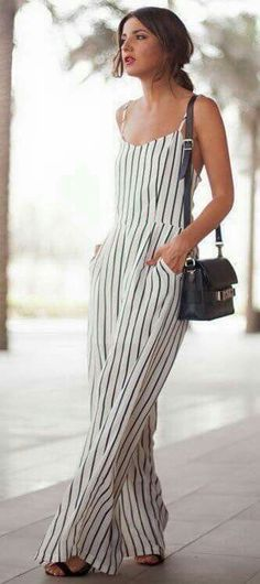Great looking striped jumpsuit