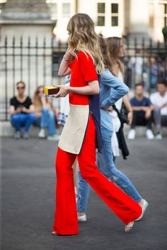Bonjour, Couture: Style from the Rue - HarpersBAZAAR.com
