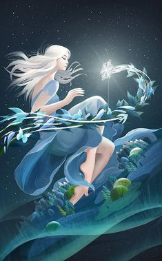 New series about the 24 solar terms ( Ⅱ) on Behance Goddess Art, Illustrations And Posters, Anime Art Girl, Aesthetic Art, Cartoon Art, Digital Illustration, Cute Art, Illustrators, Fantasy Art