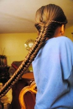 I picture Katniss Everdeen's hair looking like this. <3 the hunger games