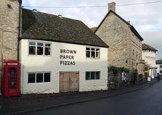 Brown Paper Pizzas, Wedmore, Somerset