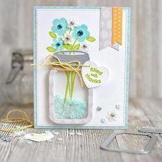 50th Anniversaire Sparkle fini Carte de vœux par Dandelion Papeterie cartes