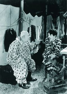 """Charles Chaplin in """"The Circus"""" (1928)"""