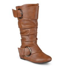 Journee Kid's 'Lassy' Buckle Faux Boots (- ) Girl's