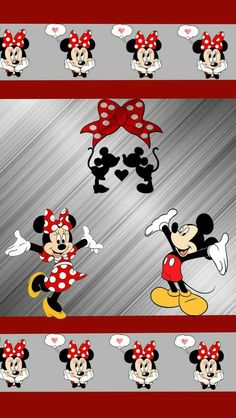 My Mickey and Minnie mouse Mickey And Minnie Love, Mickey Mouse Wallpaper, Mickey Mouse Cartoon, Disney Phone Wallpaper, Mickey Mouse And Friends, Mickey Minnie Mouse, Cartoon Wallpaper, Iphone Wallpaper, Disney Background