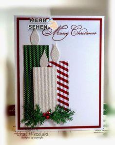 Betrachten Sie es als verdeckt -   # Stampin Up Christmas, Christmas Cards To Make, Christmas Tag, Christmas Humor, Christmas Decorations, Christmas Candles, Scrapbook Christmas Cards, Cute Diy Xmas Cards, Christmas Greeting Cards