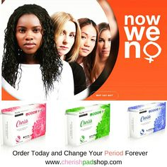CHERISH your Period Forever. If you want LIGHTER  Periods. Less ODOR. NO CHEMICALS. More COMFORT. Less LEAKS. Order Now www.cherishpadshop.com #cherishpadshop #naturalmelife #nowweno #naturallymelife