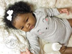 Ethnic Reborn Baby Girl for sale - Shyann by Aleina Peterson
