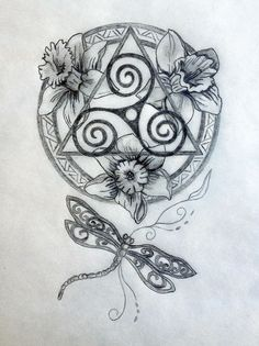 Celtic Tattoo | Sacred Celtic Mandala Tattoo Design | Tania Marie's Blog