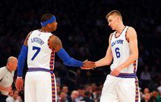 Knicks' Carmelo Anthony, Kristaps Porzingis may miss game vs. Grizzlies | Newsday