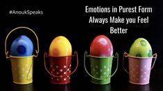 #AnoukSpeaks The best way to deal with the #emotions is not to distinguish them between good and bad. Their acceptance in purest form makes you feel better.