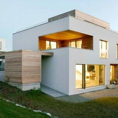 Sub & Add: moderne Häuser von Marty Häuser AG Architecture Design, Architecture Magazines, Contemporary Architecture, Family House Plans, Dream House Plans, Small Modern Home, Exterior Design, Future House, New Homes