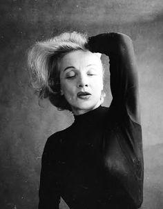 Marlene Dietrich. Photo by Milton Greene, 1952.