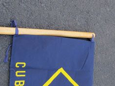 Here is how I built flag stands for our Cub Scout Den flag and our American flag. This is a simple, yet very rugged, design that young boys.