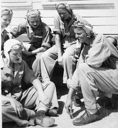 "The WASPs: Women Pilots of WWII ""Completely & briefly shattered the perception of what women were capable of."" KB"