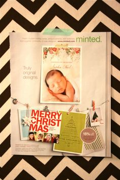 OA blog post about page layout inspiration from a magazine ad. go to post for details.