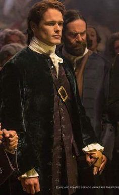 Jamie and Murtagh at French Court