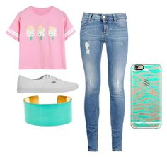 """""""Untitled #207"""" by katemadison ❤ liked on Polyvore featuring STELLA McCARTNEY, Vans, Fornash and Casetify"""