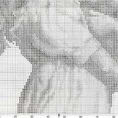 Схема вышивки Девочка с собакой (Vervaco) 2 ИЗ 2
